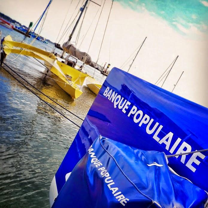 Exit Happy, welcome Banque Populaire ! Credit : E.Allaire (instantané)