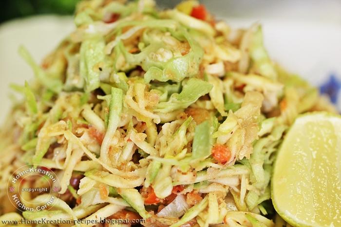 Kerabu Mangga & Bunga Kunyit (Mango & Turmeric Flower Salad) - THE ...