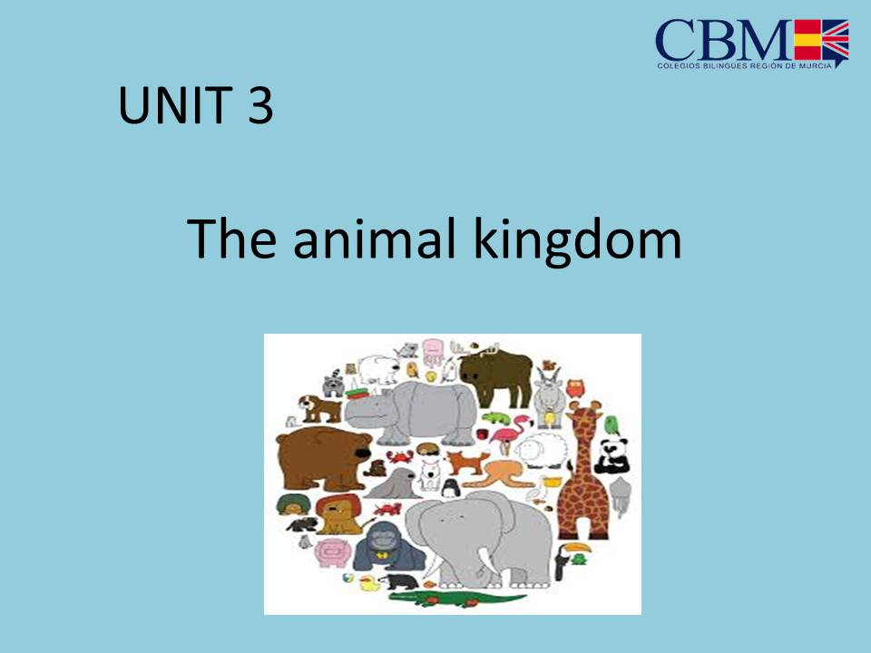 Unit 3 Natural Science The Animal Kingdom