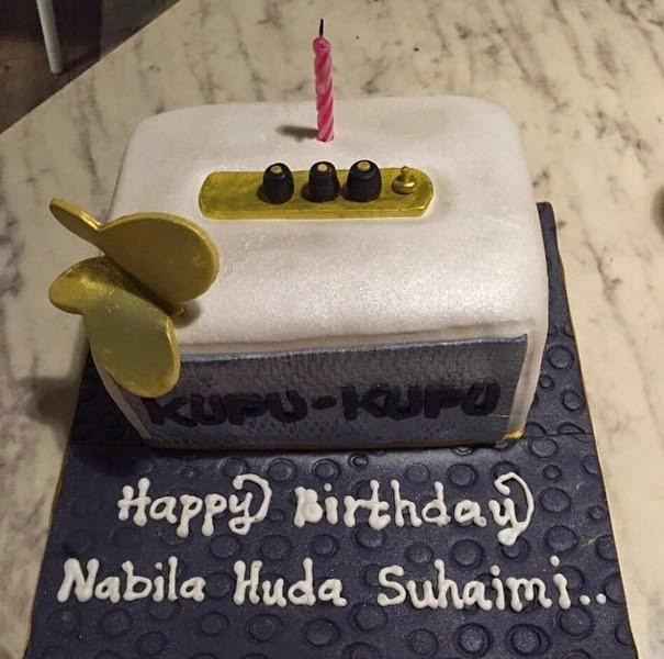Birthday Nabila Huda, info, terkini, hiburan, sensasi, Nabila Huda,