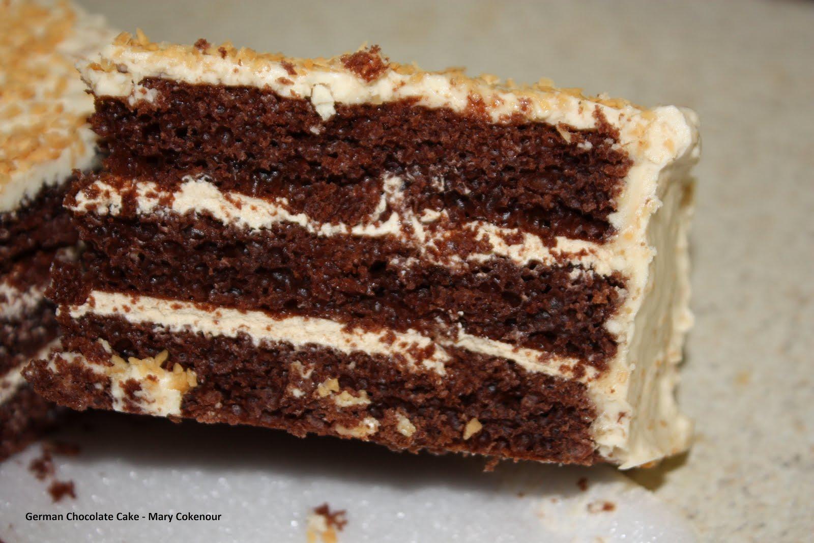 Food Adventures of a Comfort Cook: The Original German Chocolate Cake.