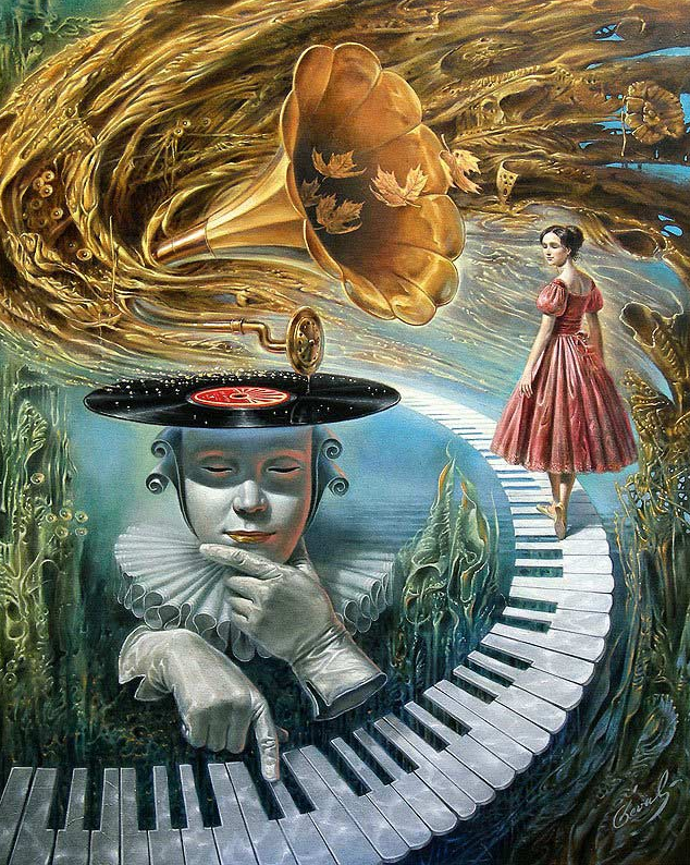 17-Michael-Cheval-Sounding-Silence-Surreal-Absurdist-Paintings-www-designstack-co