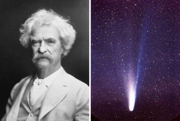 Mark Twain dan Komet Halley