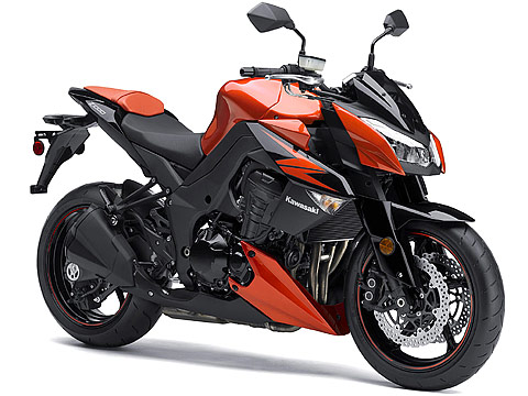 Gambar Motor 2012 Kawasaki Z1000 -  480x360 pixels
