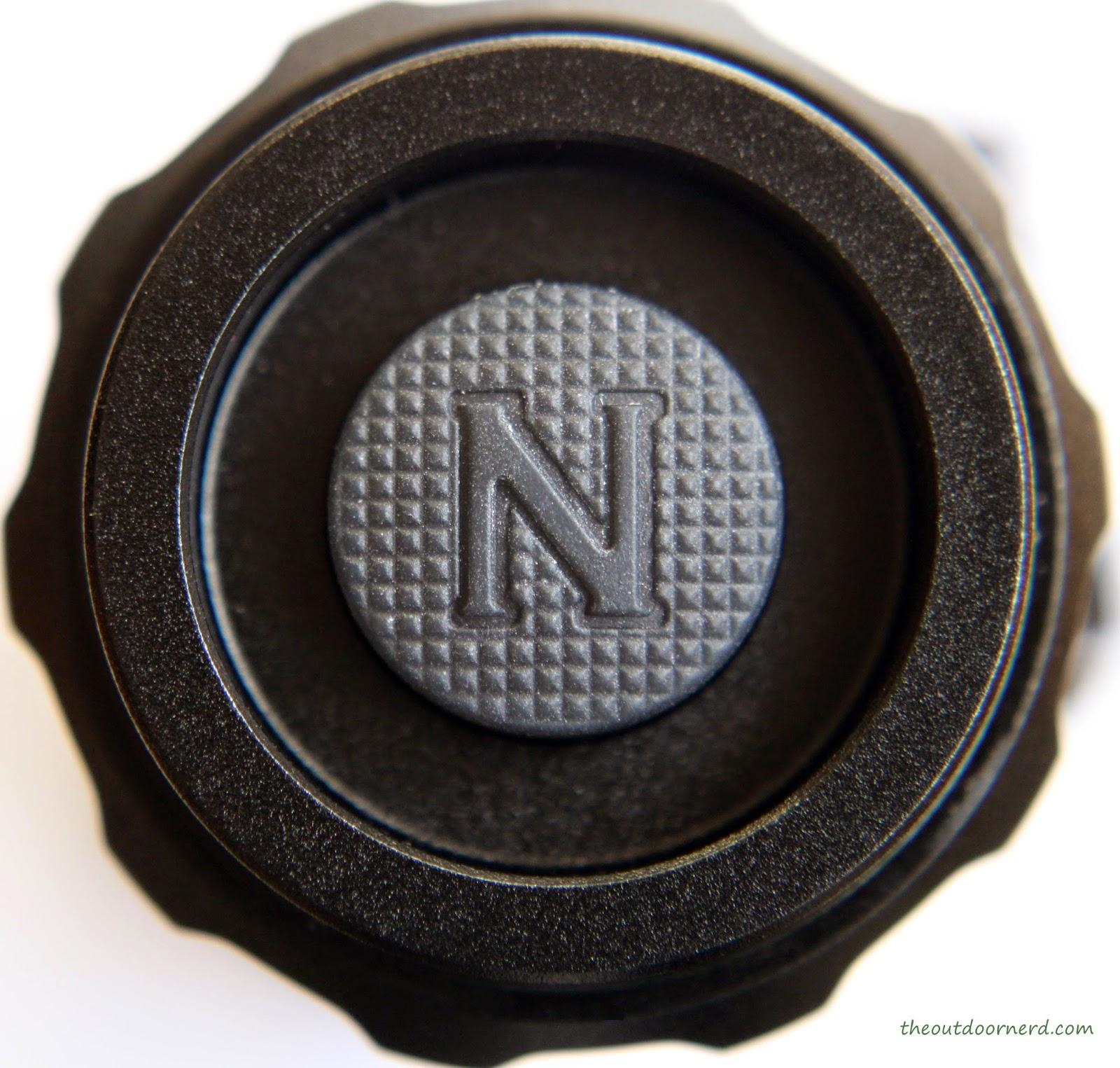Nitecore HC50 Headlamp Button Un-Lit