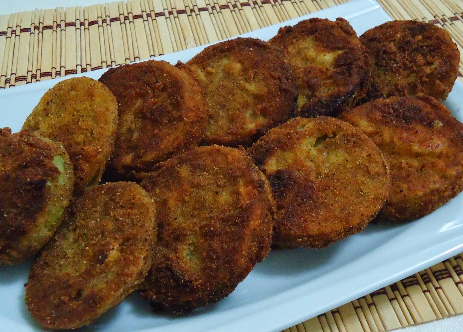 Yeşil Domates Kızartması