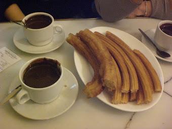 Chocolate en san Gines