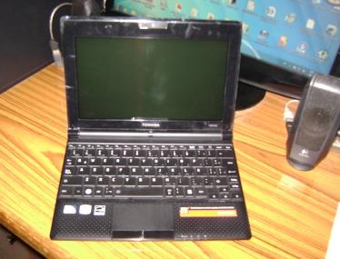 Todo sobre computadoras: Netbook Toshiba NB505