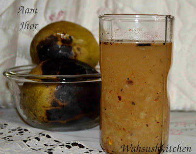 Aam jhor or aam jhora recipe