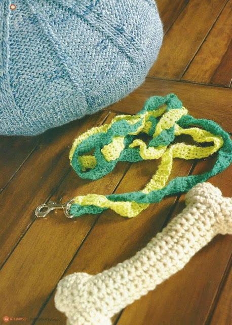 Accesorios para perros a Crochet y Dos Agujas