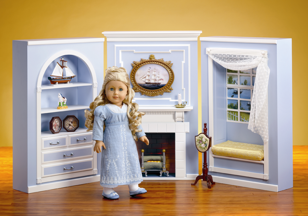American Doll Room Tour