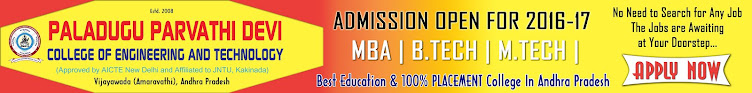 MBA, B.TECH & M.TECH ADMISSION OPEN FOR 2016-17