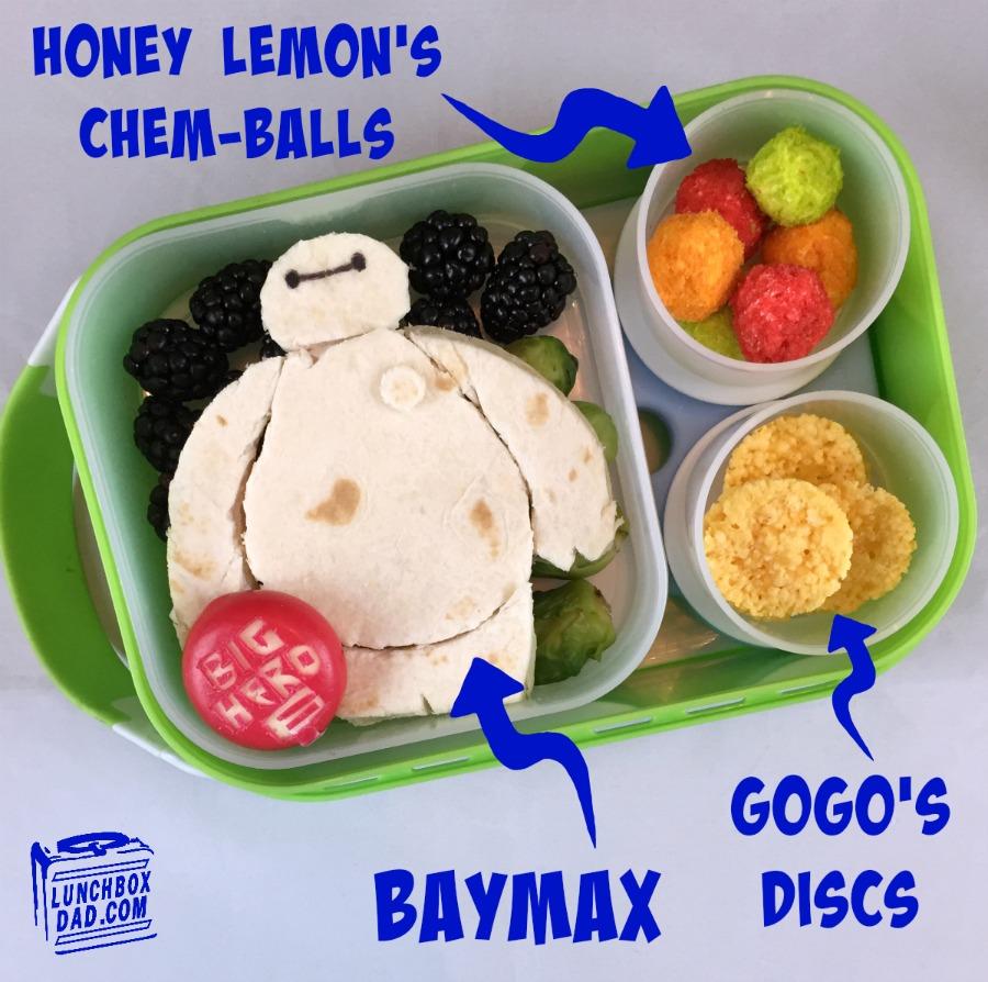 Disney's Big Hero 6 Bento Lunch
