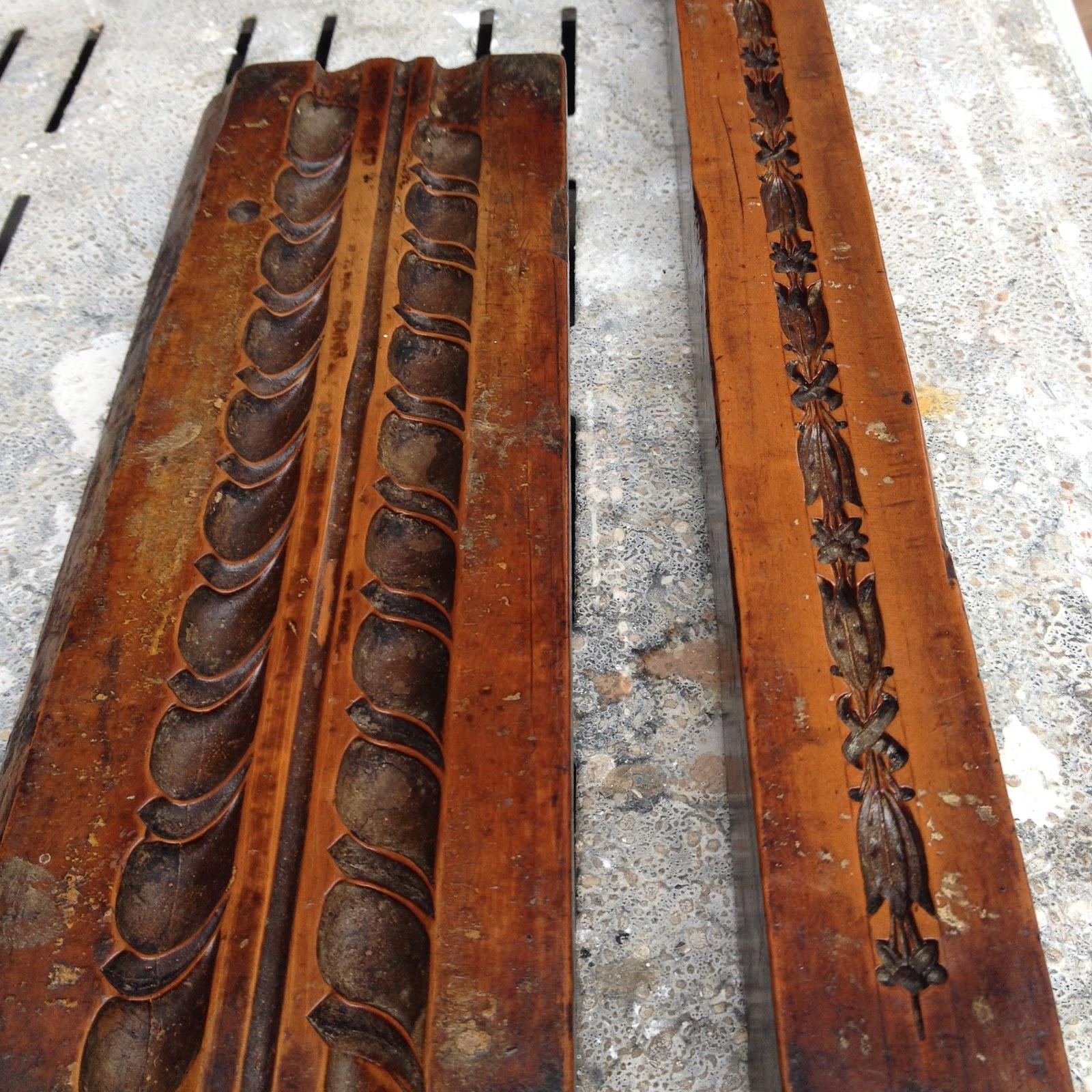 Framemaker boxwood moulds