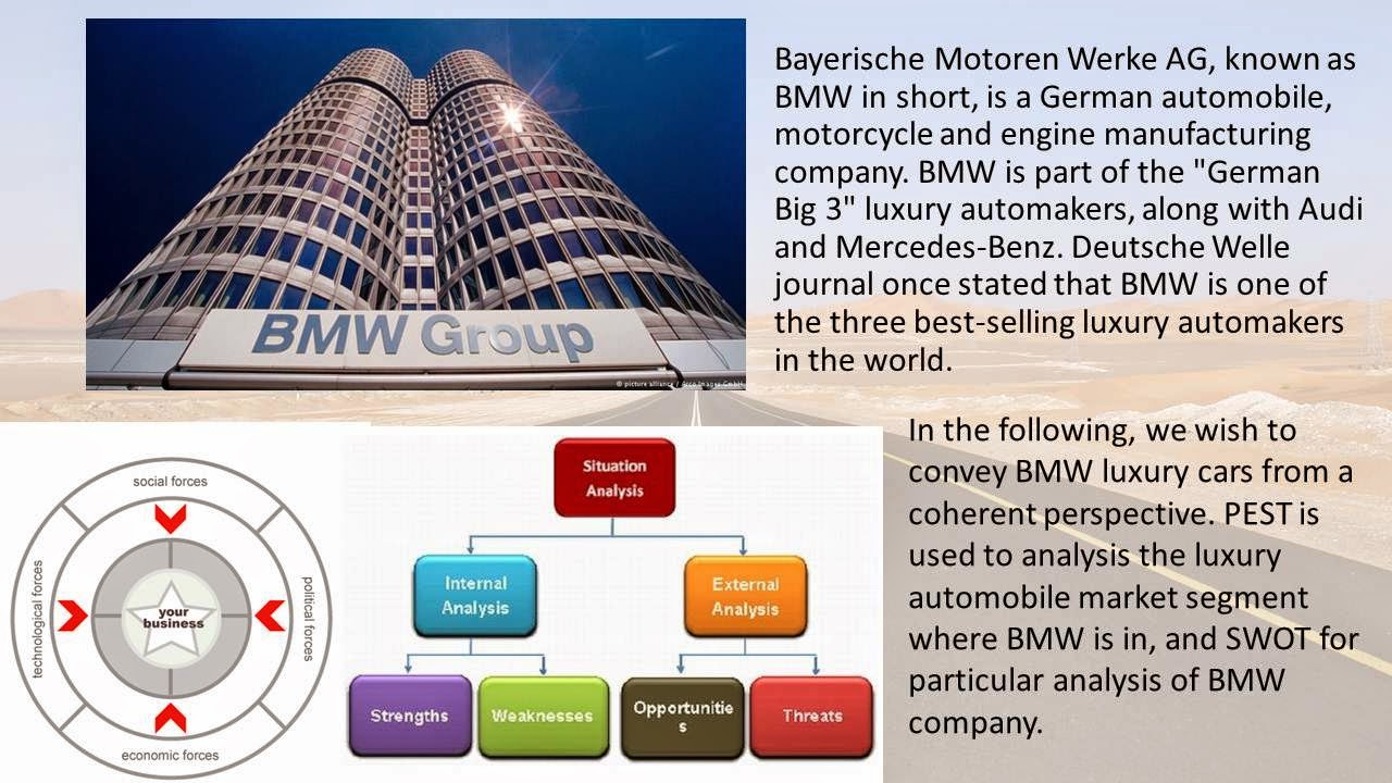 internal analysis on bmw