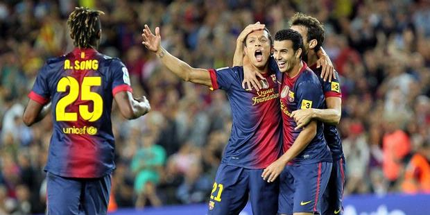 Hasil Barcelona Vs Valencia 3 September 2012