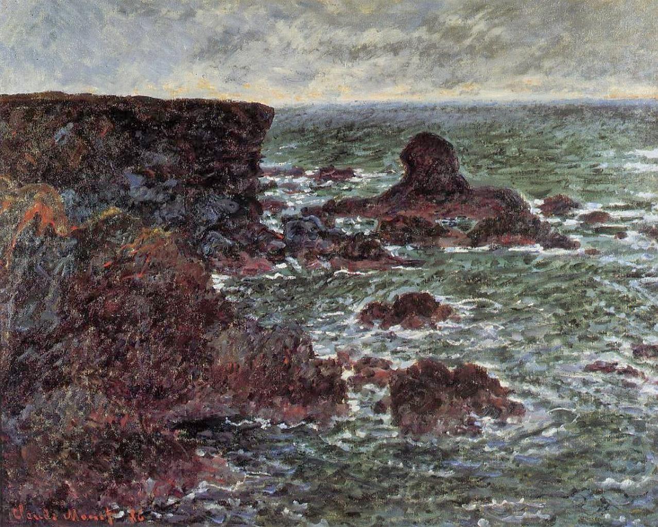 Art artists claude monet part 16 1885 1886 for Port donnant belle ile
