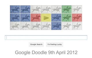 Eadweard J. Muybridge - Google Doodle