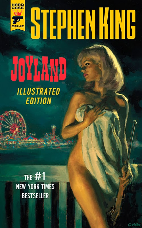 Illustrated Book Covers : Shotsmag confidential stephen king s joyland coming in