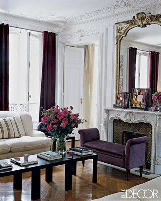 Tiffany Leigh Interior Design: Benches in Front of Fireplace