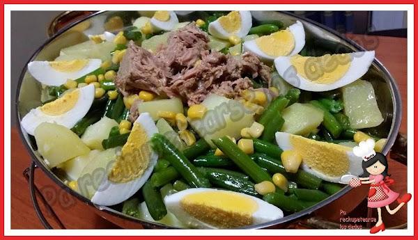Ensalada de judias verdes cocinar en casa es for Cocinar judias verdes