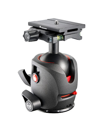 Manfrotto 055 Magnesium Ball Head w/ MSQ6 Top Lock QR