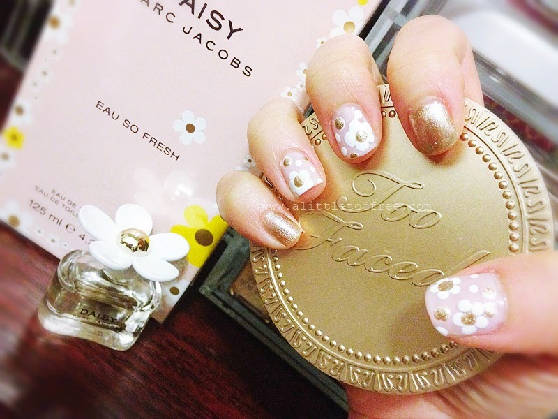A little too free diy marc jacobs daisy nail art as most of you are aware i love to paint my nails when i have the luxury to do so by luxury i mean time well dont get me wrong solutioingenieria Choice Image