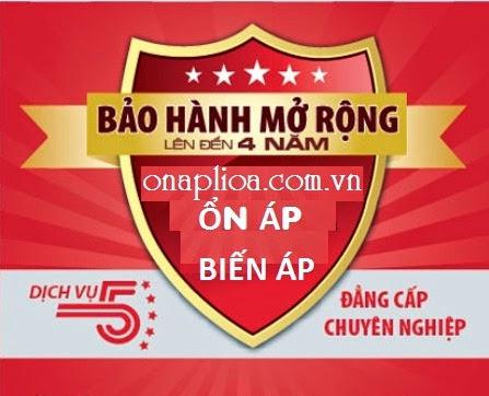 On ap lioa 20kva 3 pha bao hanh 4 nam