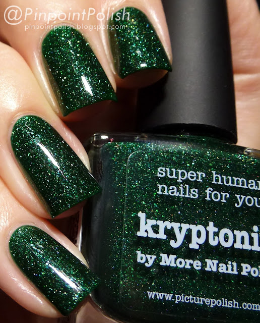 Kryptonite, picture polish, collaboration shade, More Nail Polish