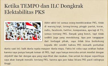 Ketika TEMPO dan ILC Dongkrak Elektabilitas PKS