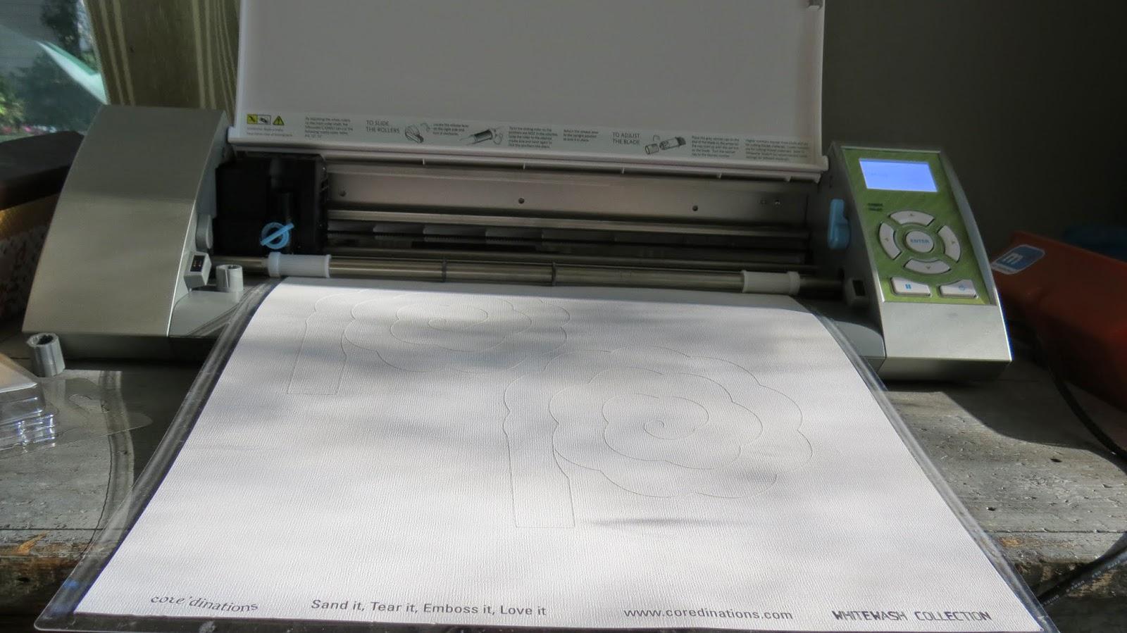 silhouette Cameo, Paper cutter machine