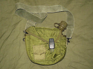 2 Quart Collapsible Canteen & Cover, 2nd pattern