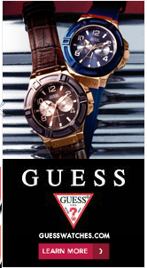 Nuffnang, Guess, Watches