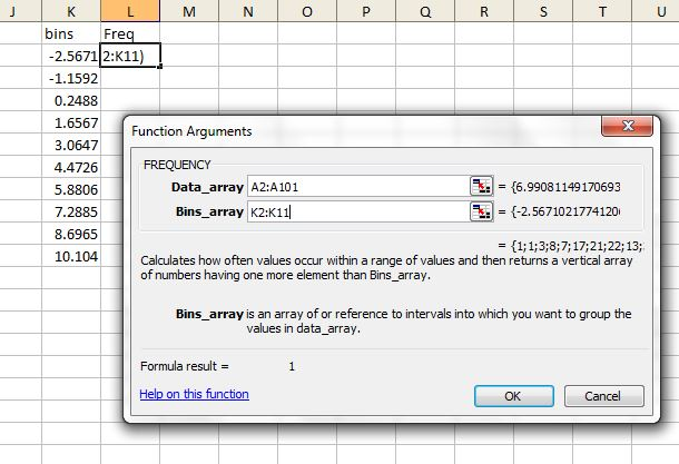 how to draw lognormal distribution graph in excel