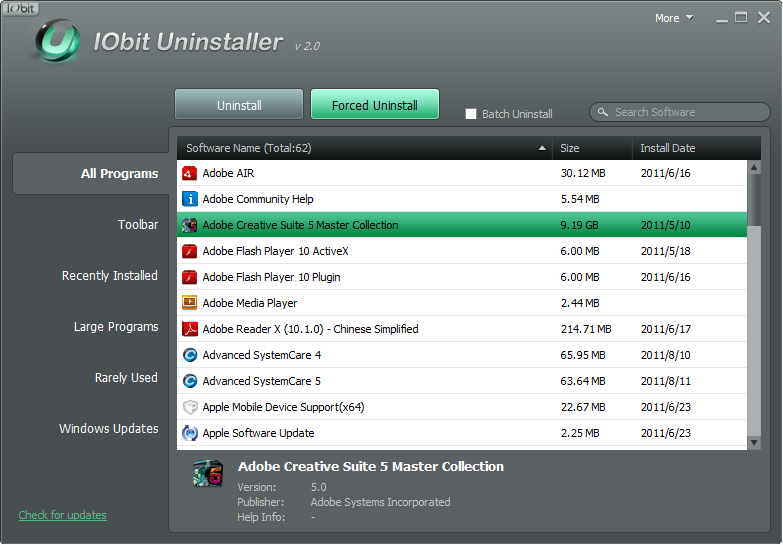 Iobit uninstaller 60 jahre - f7e