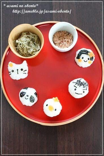 壽司、碎蘿蔔與味噌湯
