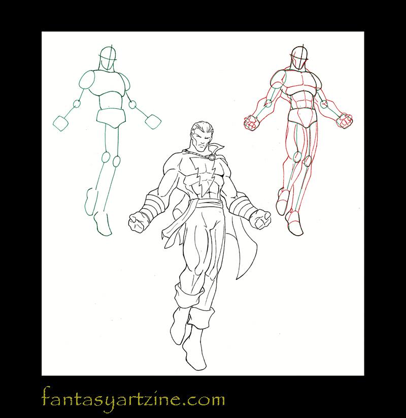 Comment dessiner des heros de bd - Super heros a dessiner ...