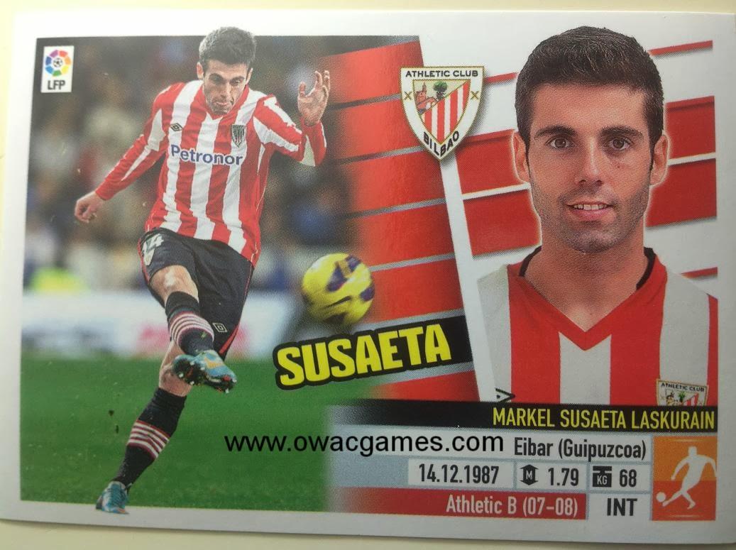 Liga ESTE 2013-14 Ath. Bilbao - 11 - Susaeta