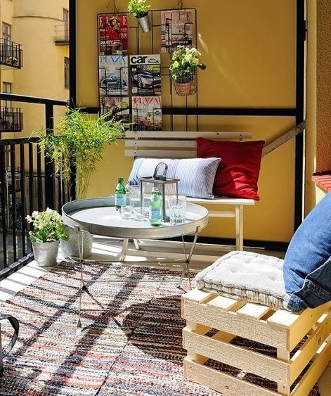 Balcones y feng shui for Decoracion de balcones