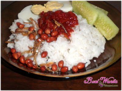 Resepi Mudah Nasi Lemak Sihat Tanpa Santan. Nasi Lemak Sedap. Cara Buat Nasi Lemak. Cara Masak Nasi Lemak Tanpa Santan.