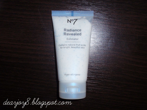 No 7 exfoliator reviews