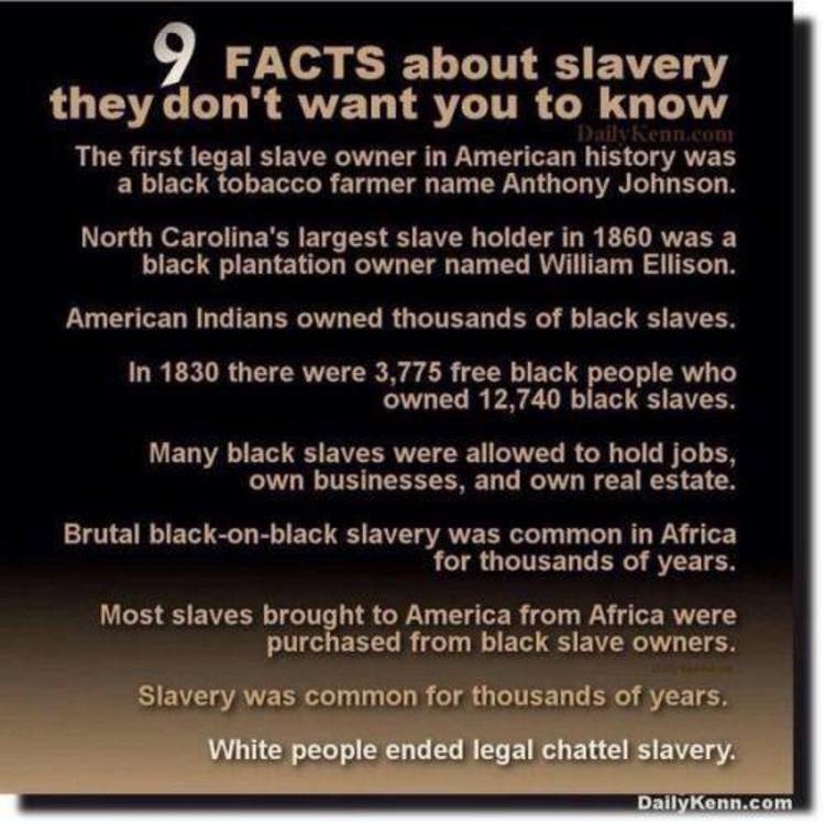 9 Facts About Slavery They Don't Want You To Know