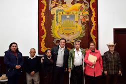 Se reúne Américo Zúñiga con comisariados ejidales de El Castillo