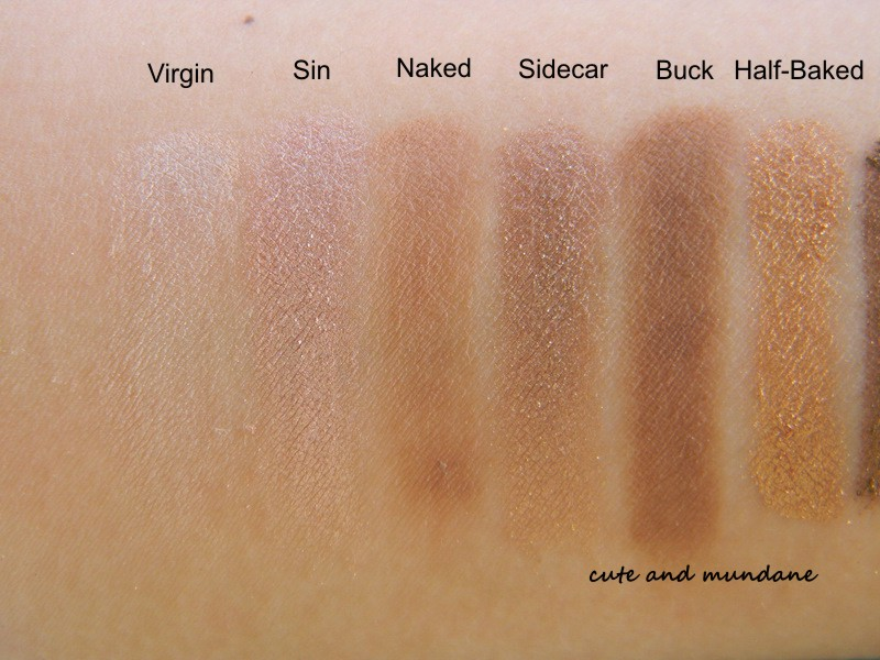 Urban Decay Naked Petite Heat Palette   Review & Swatches
