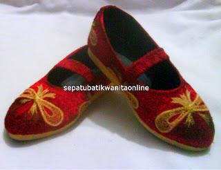 Sepatu Batik Wanita Murah