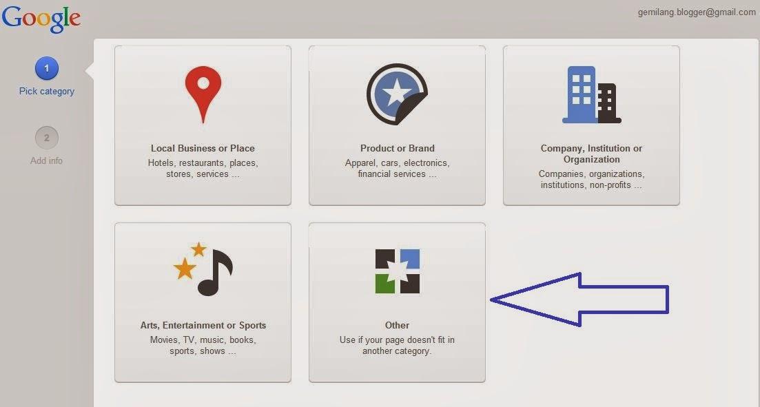 Cara Membuat Halaman di Google Plus