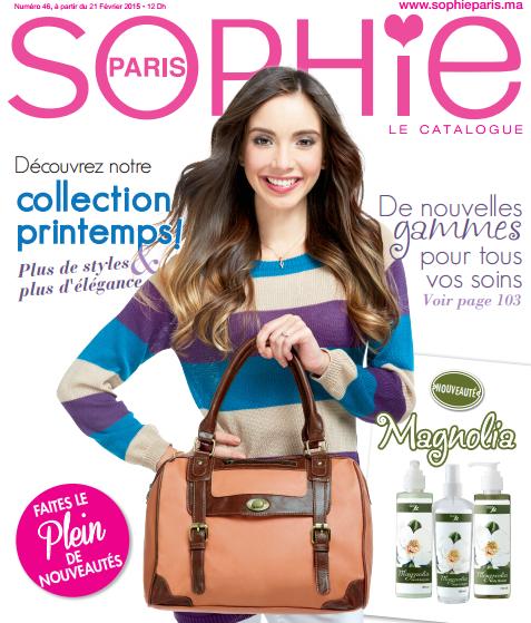 catalogue sophie paris maroc