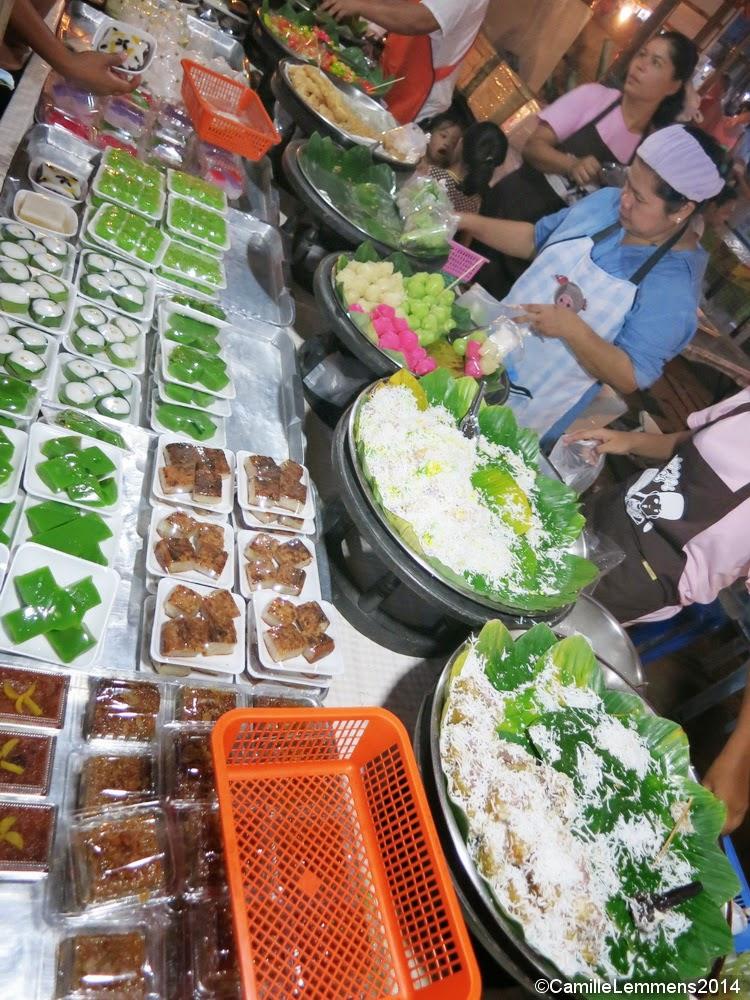Sweets at Khao Lak market
