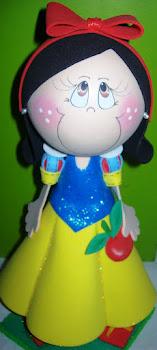 Fofucha Princesa Branca de Neve