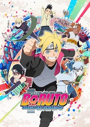 Boruto - 2ª Temporada Legendada Desenhos Torrent Download capa